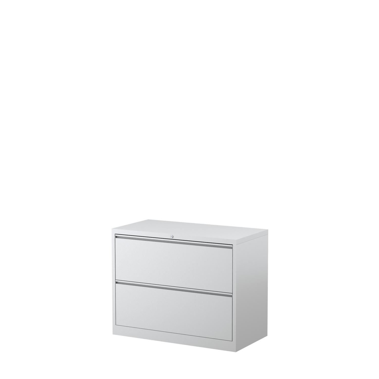 Image of: Steelco 2 Drawer Lateral Filing Cabinet